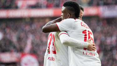 Mark Uth (l.) und Jhon Córdoba haben beim 1. FC Köln überzeugt