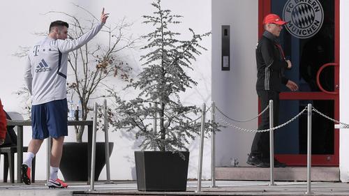 Niklas Süle vom FC Bayern hatte sich im Oktober 2019 das Kreuzband gerissen