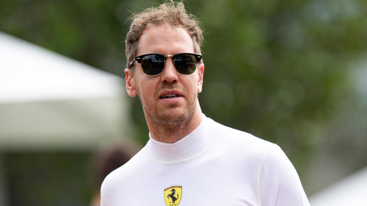 Nutzt die Formel-1-Pause zum Basteln am Motorrad: Ferrari-Pilot Sebastian Vettel