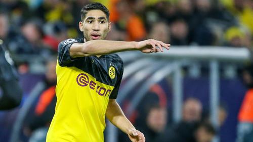 Die Zukunft von BVB-Leihspieler Achraf Hakimi ist offen