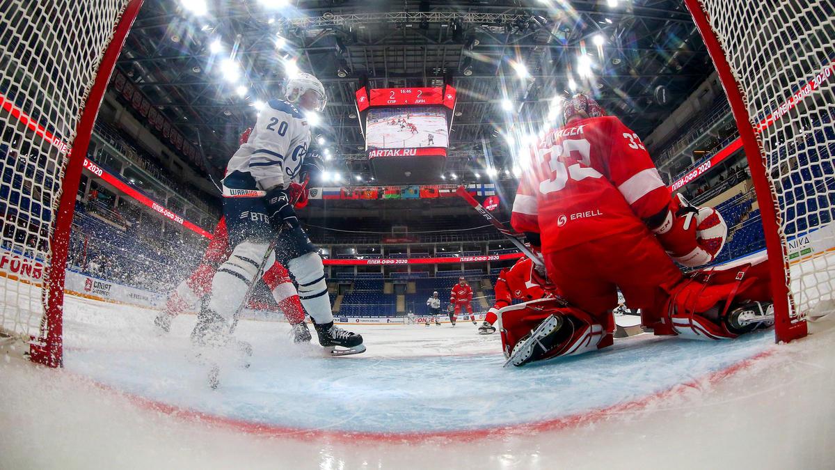 Die KHL hat die Saison vorzeitig beendet