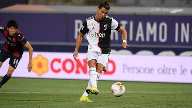 CR7 brachte Juventus mit 1:0 in Führung
