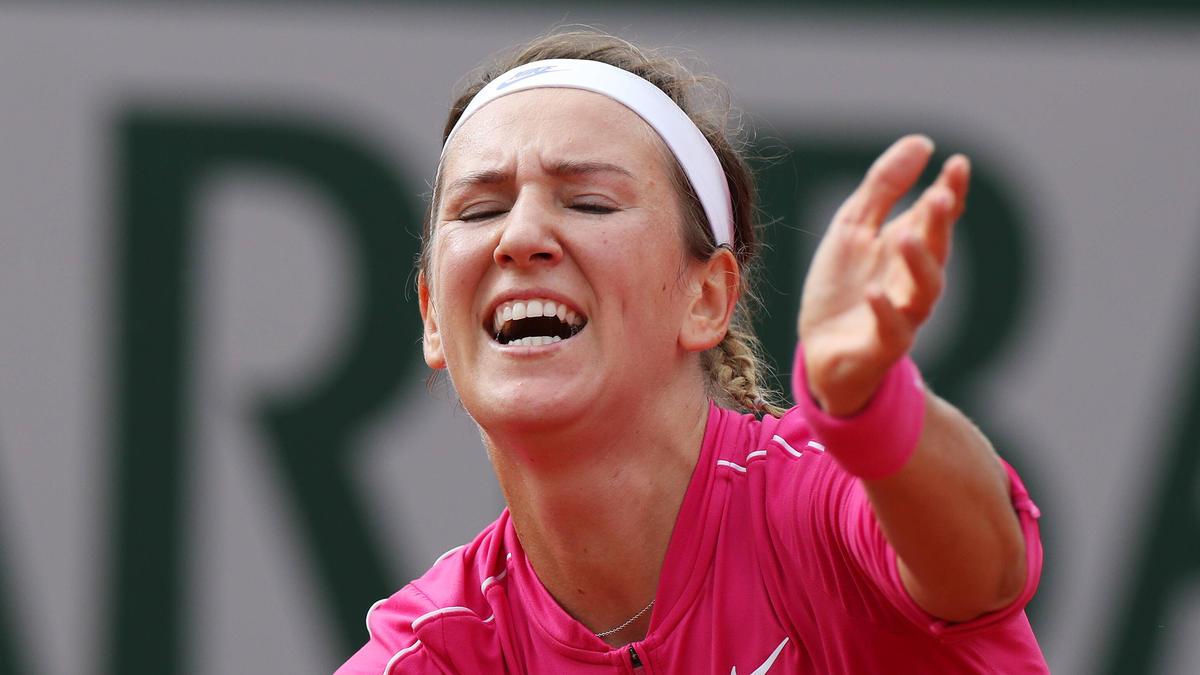 Victoria Azarenka ist bei den French Open früh ausgeschieden