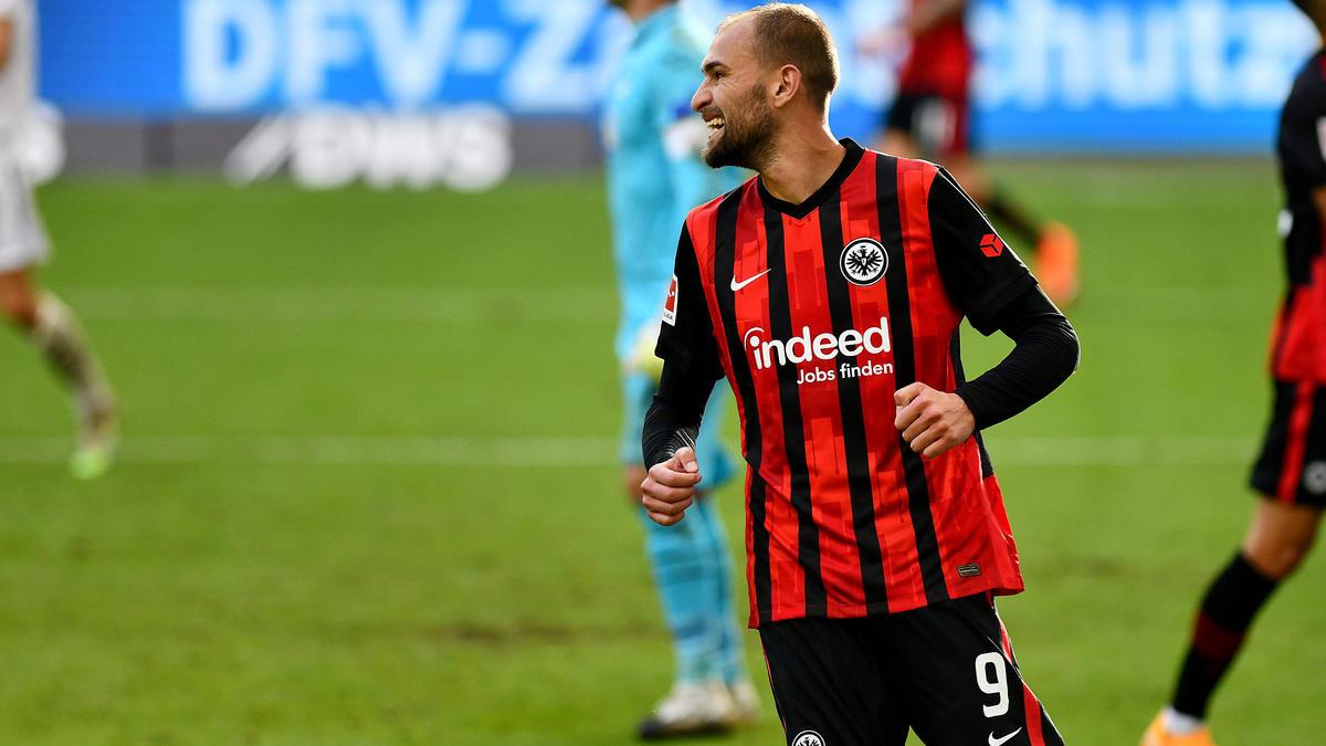 Bas Dost spielt seit 2019 bei Eintracht Frankfurt