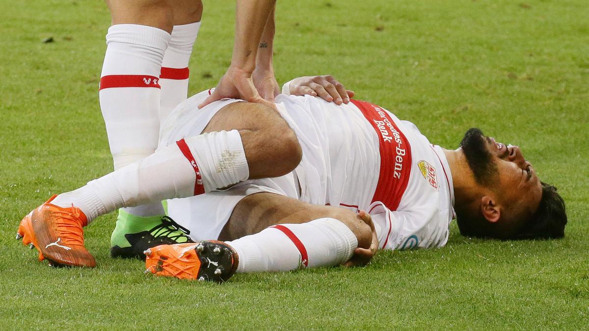 Der VfBStuttgart muss vorerst auf Nicolás González verzichten
