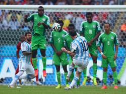 Lionel Messi trifft zum 2:1