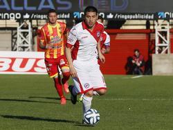 Román Riquelme bei seinem ersten Spiel nach seiner Rückkehr