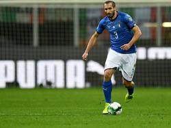 Oberschenkelverletzung: Italien muss auf Giorgio Chiellini verzichten