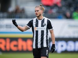 Gíslason ist nach der WM wieder in Sandhausen am Ball