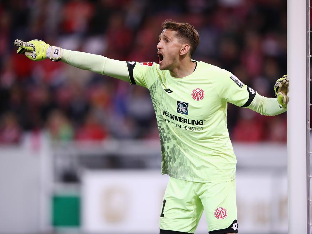 Torwart René Adler hat beim FSV Mainz 05 noch einen Vertrag bis 2019
