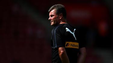 Gladbach-Trainer Dieter Hecking hat einige Ausfälle zu beklagen