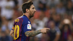 Messi consiguió el empate con un disparo genial. (Foto: Getty)