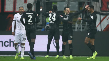 Eintracht Frankfurt feiert nach zwei Niederlagen einen Sieg in der Bundesliga