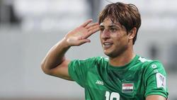 Mohanad Ali spielt noch in der irakischen Liga bei Al Shorta (Bildquelle: Instagram)