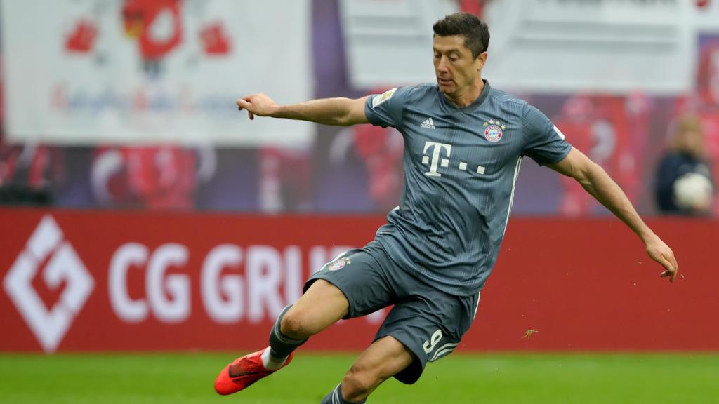 Bayern-Stürmer Robert Lewandowski erzielte in dieser Bundesligasaison bisher 22 Tore