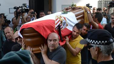 José Antonio Reyes wurde in Utrera beigesetzt