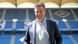 Dieter Hecking startet mit dem HSV in die neue Saison