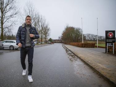 Raffael van der Vaart durfte endlich mal wieder bei den Profis ran