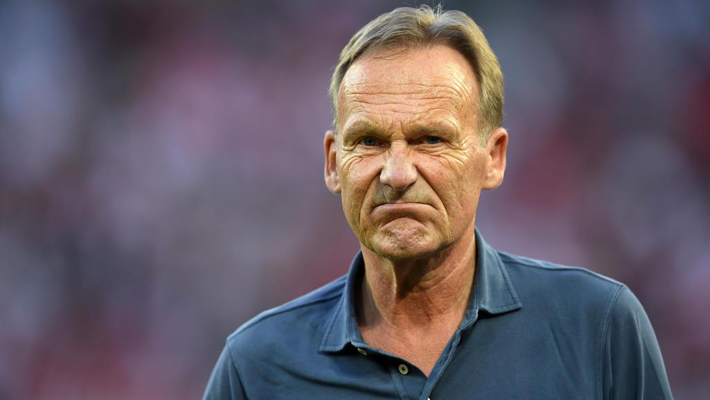 BVB-Boss Hans-Joachim Watzke hat sich zum Topspiel beim FC Bayern geäußert