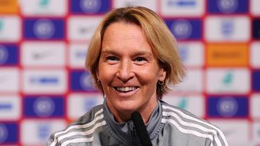 Wünscht sich ein Länderspiel vor 25.000 Fans: Bundestrainerin Martina Voss-Tecklenburg