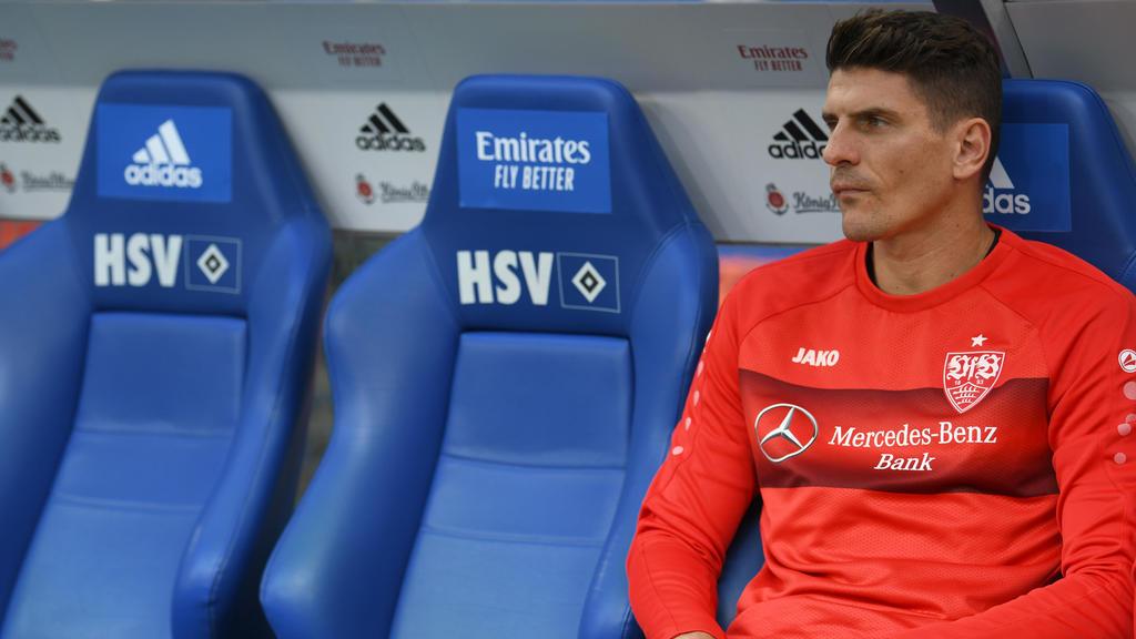 Mehr als Bankdrücker ist Mario Gomez beim VfB schon lange nicht mehr