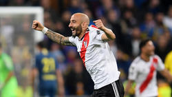 Pinola adelantó al River Plate.