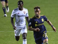 Hany Mukhtar (r.) schnürte den schnellsten MLS-Hattrick der Geschichte