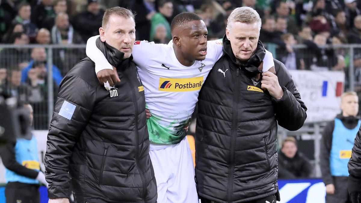Denis Zakaria verletzte sich bei der Gladbacher Niederlage gegen den BVB