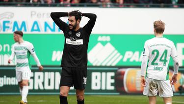 Der VfB Stuttgart verlor bei der SpVgg Greuther Fürth
