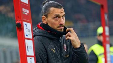Hat möglicherweise mit seinem Besuch bei Hammarby IF Abstandsregeln verletzt: Zlatan Ibrahimovic. Foto: Francesco Scaccianoce/LPS via ZUMA Wire/dpa