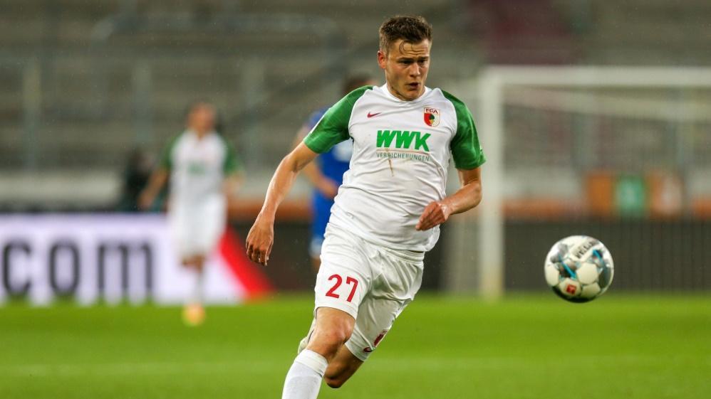 Alfred Finnbogason erzielte drei Tore für den FC Augsburg