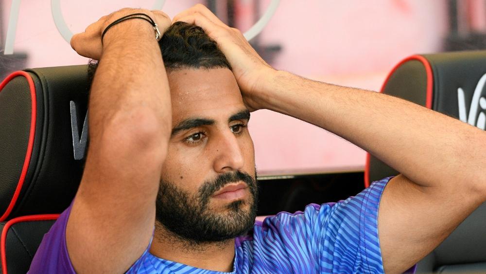 Manchester City muss auf Riyad Mahrez verzichten