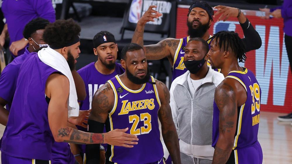LeBron James führte die LA Lakers in die Finalserie