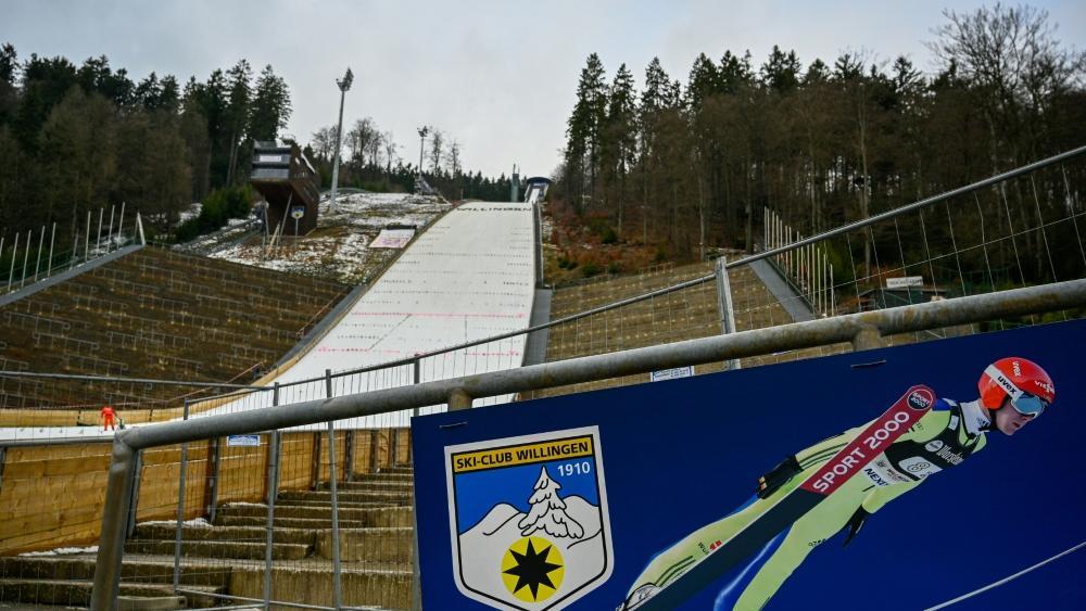 Keine Zuschauer beim Skisprung-Weltcup in Willingen