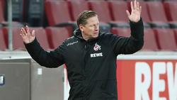 Köln-Coach Gisdol sitzt derzeit nicht fest im Sattel