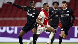 Kein Sieger zwischen Ajax Amsterdam und PSV Eindhoven