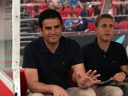 Castilla-Coach Toril bei Mallorca auf der Bank