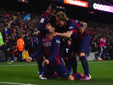 Luis Suárez trifft im Clásico zum entscheidenden 2:1 für seinen FC Barcelona