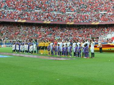 Partido de la Europa League del Sevilla FC en la capital andaluza. (Foto: Imago)