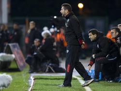 Eupen-Coach Jordi Condom kann sich doch noch freuen