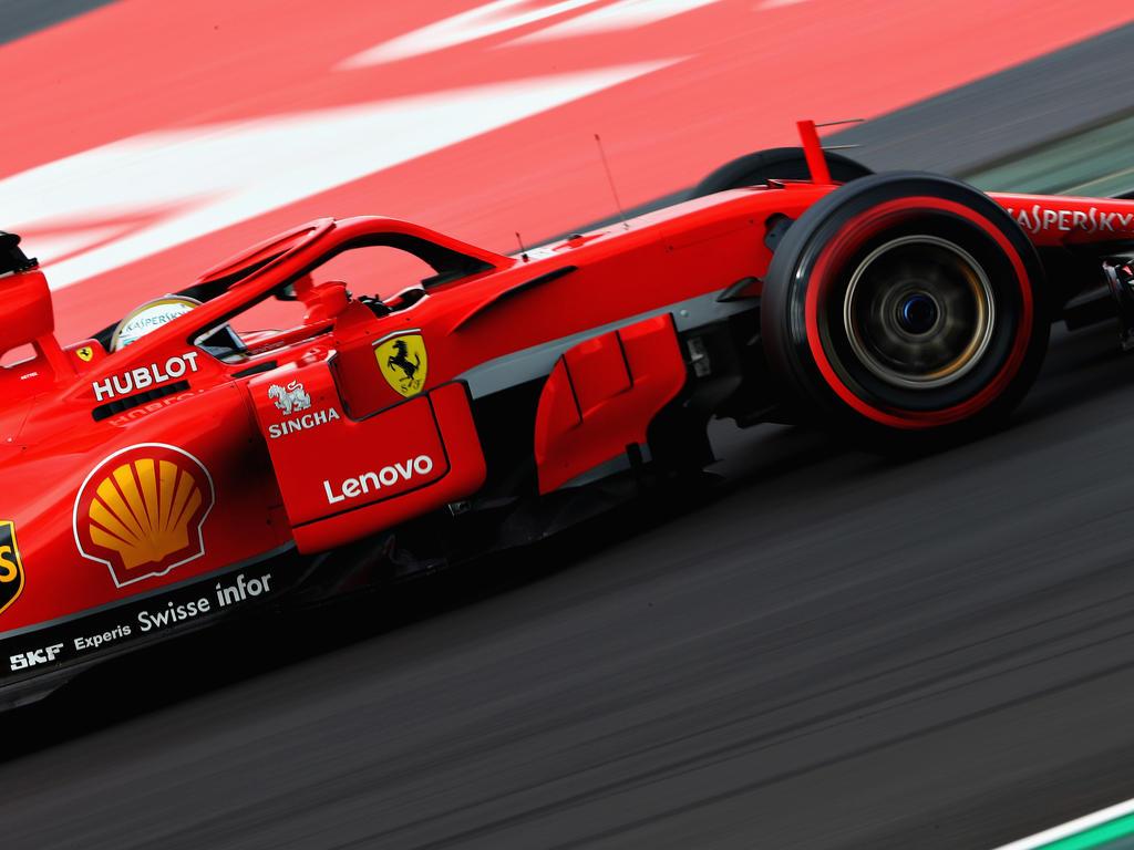 Sebastian Vettel fuhr am vorletzten Test-Tag in Barcelona Rekordzeit