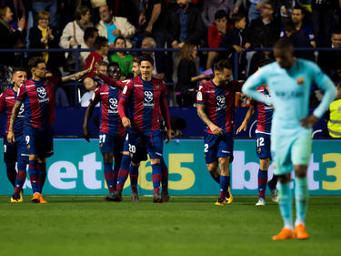 El Barcelona perdió su imbatibilidad en un partido con 9 goles. (Foto: Getty)