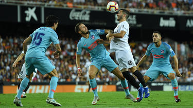 Keinen Sieger gab es zwischen Atleti und Valencia