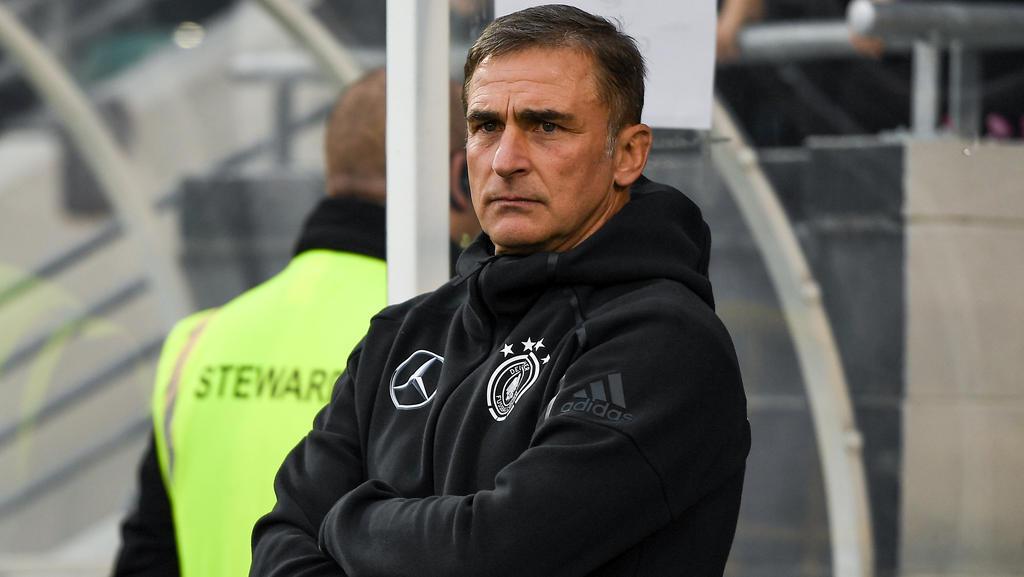 U21-Coach Stefan Kuntz hat zahlreiche Ausfälle zu beklagen