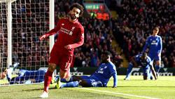 Salah volvió a reencontrarse con el gol en la liga inglesa. (Foto: Getty)