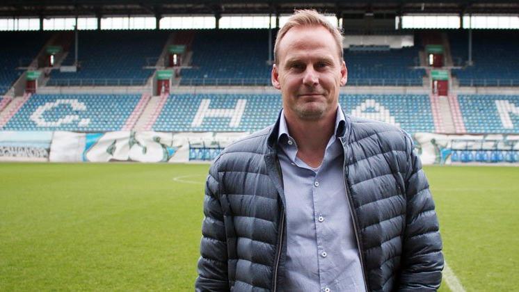 Neuer Sportvorstand bei Hansa Rostock: Martin Pieckenhagen (Bildquelle: twitter.com/hansarostock)