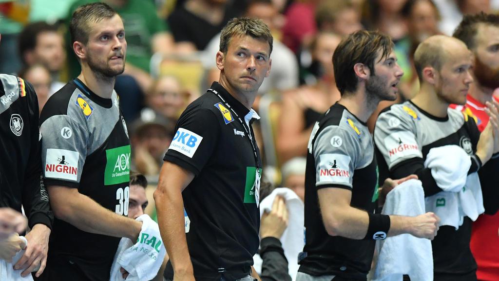 Christian Prokop (M.) muss bei der Heim-WM liefern