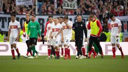 Der VfB Stuttgart steckt weiter tief im Abstiegskampf