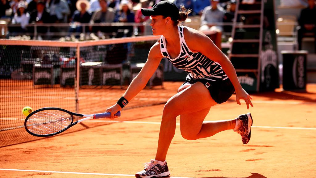 Ashleigh Barty holte sich ihren ersten Titel bei einem Grand-Slam-Turnier