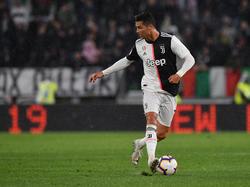 Ronaldo es la estrella de la Juventus de Turín.